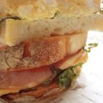 石窯焼のサンドイッチ